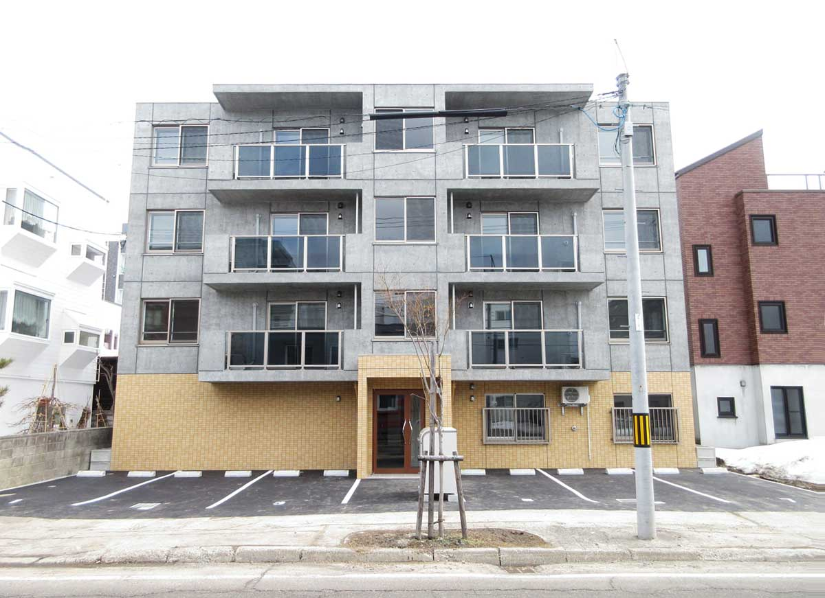 札幌市北区北22条施工事例